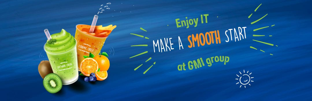 """Make a smooth start"" bij GMI group"