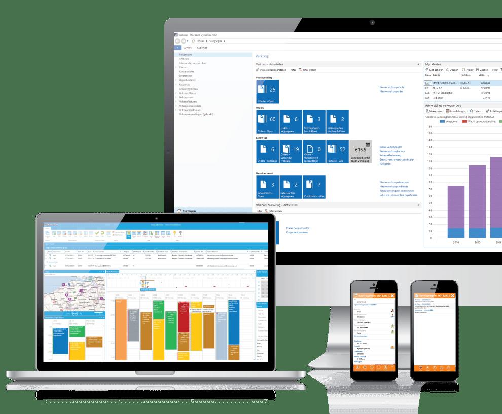 Project- en servicebeheer in één geïntegreerd platform | Gservice van GMI group