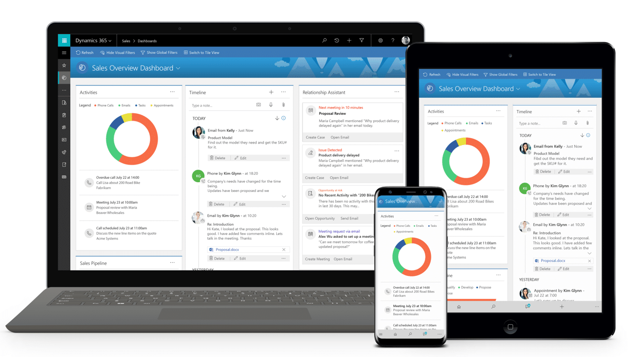 Unified Interface van Dynamics 365 Sales | GMI group