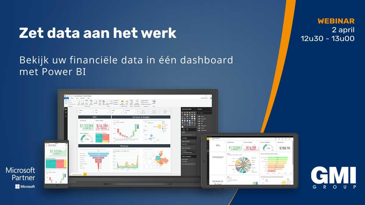 Gcentral Webinar | Uw financiële data in één oogopslag met Power BI