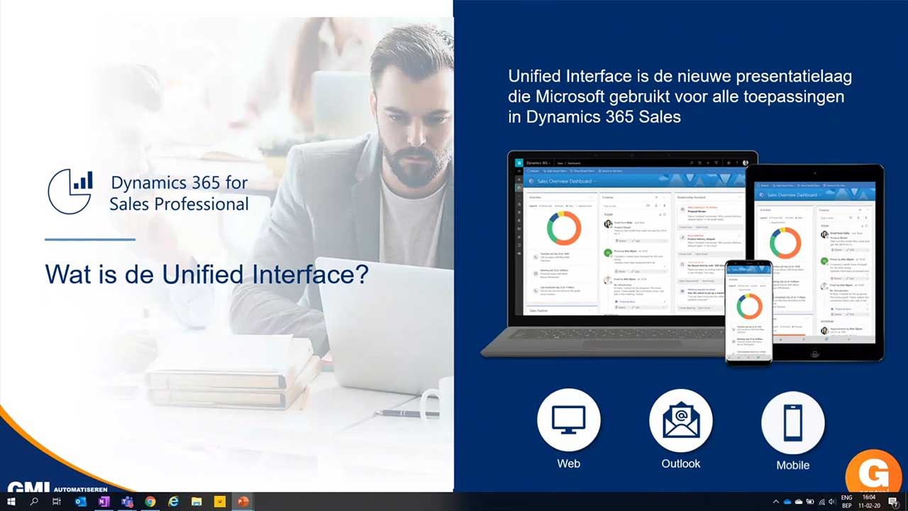 Gcentral Webcast | Ontdek de nieuwe Unified Interface van Dynamics 365 Sales