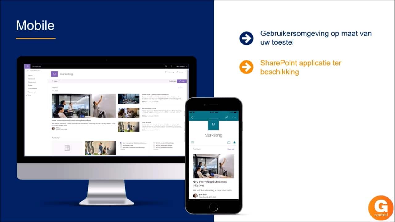 Gcentral Webcast | Beter samenwerken en documenten delen met SharePoint en Gbuild