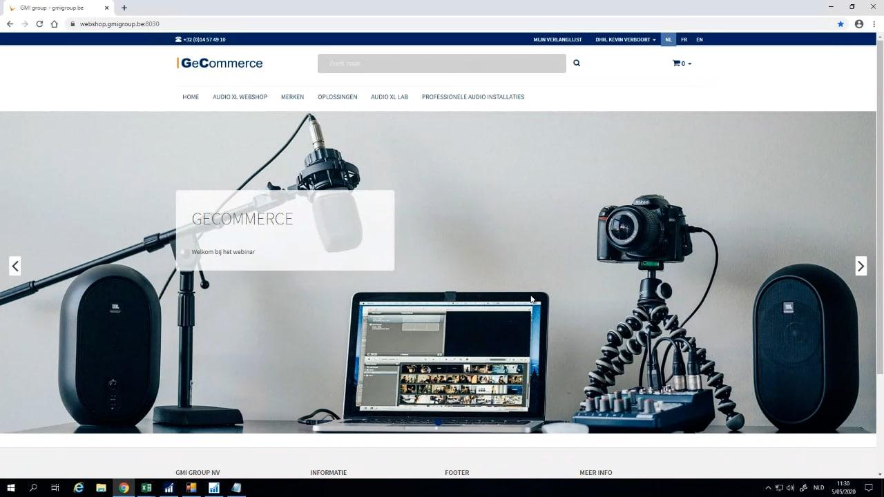 Gcentral Webcast | Bouw nu een sterk online verkoopkanaal uit met GeCommerce