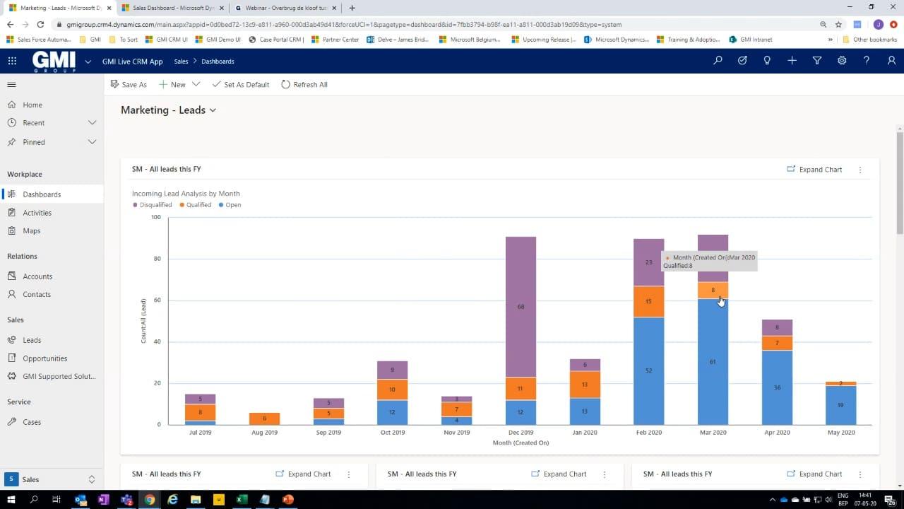Gcentral Webcast | Overbrug de kloof tussen sales en marketing met CRM
